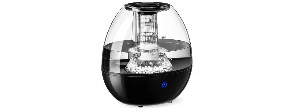 Homasy Humidifiers with Anti-Bacteria Stone