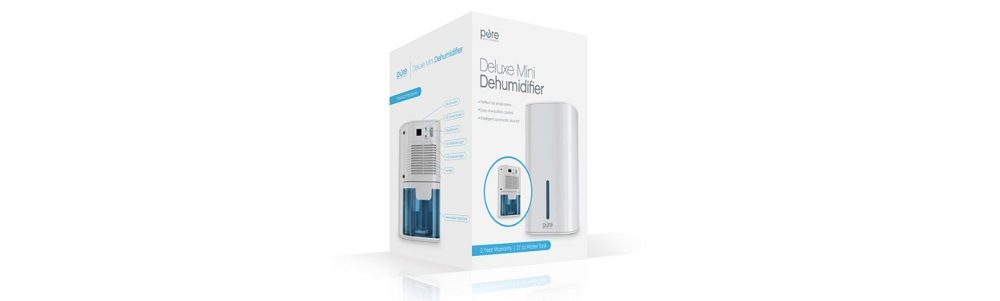 Pure Enrichment PEDEHUM Deluxe Mini Dehumidifier