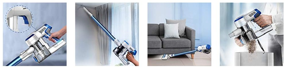 Tineco A10 Hero vs Dyson V8 Stick vacuums