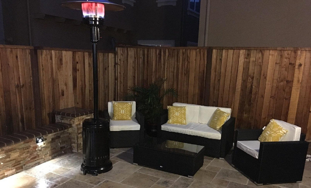 AmazonBasics Commercial Outdoor Patio Heater Review