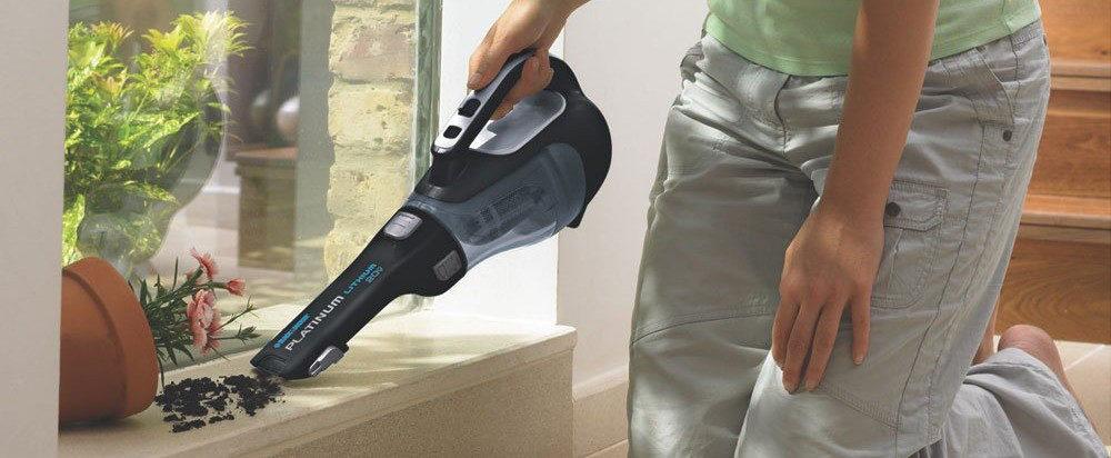 BLACK+DECKER BDH2000L Cordless Hand Vacuum Review