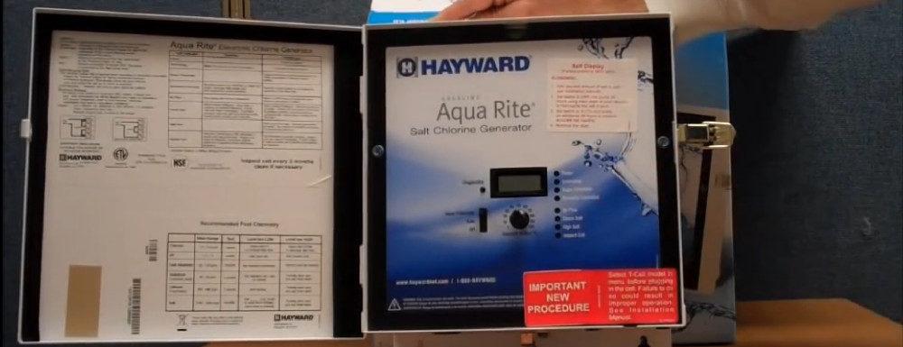 Hayward Goldline AQR15 AquaRite Electronic Salt Chlorination System