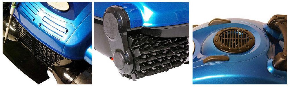 Nu Cobalt NC52 Wall Climber Smart Logic Robotic Pool Cleaner Review