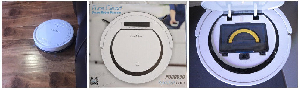 Pure Clean PUCRC25 Robot Vacuum Cleaner Review