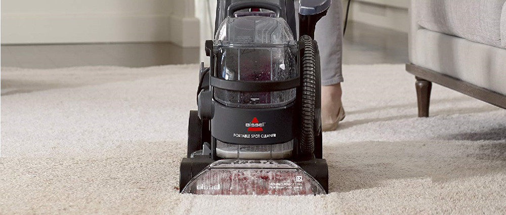 BISSELL DeepClean Lift-Off Deluxe Upright Pet Carpet Cleaner Machine