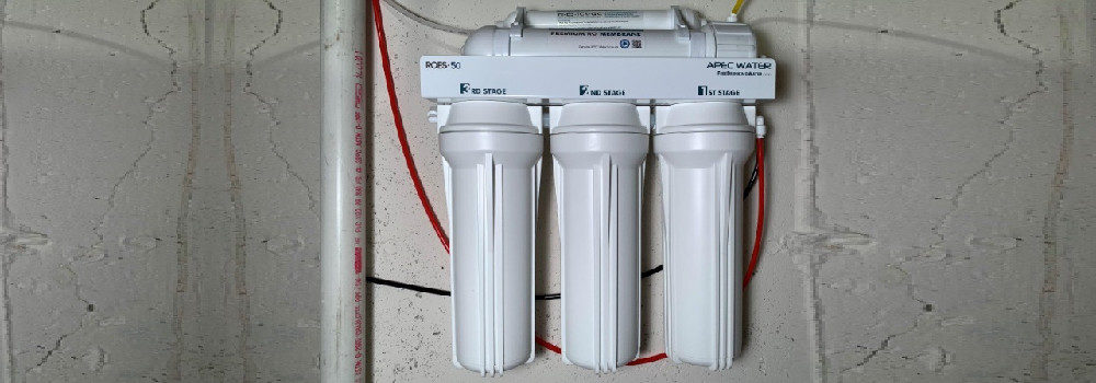 APEC Top Tier 5-Stage Water Filter System