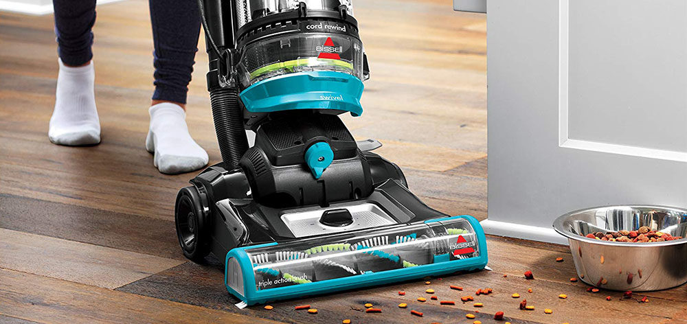 BISSELL Cleanview Swivel Rewind Pet Upright Bagless Vacuum Cleaner Review