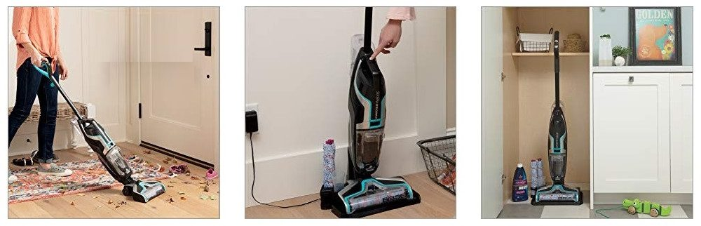 BISSELL 2551 CrossWave Cordless Floor and Area Rug Cleaner Review