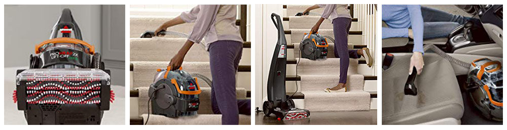 Bissell ProHeat 2X Lift Off Pet Carpet Cleaner Review
