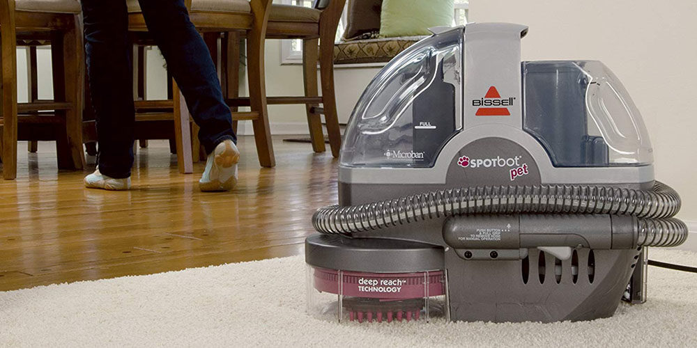 Top 8 Best Portable Carpet Cleaners For 2019 Buying Guide