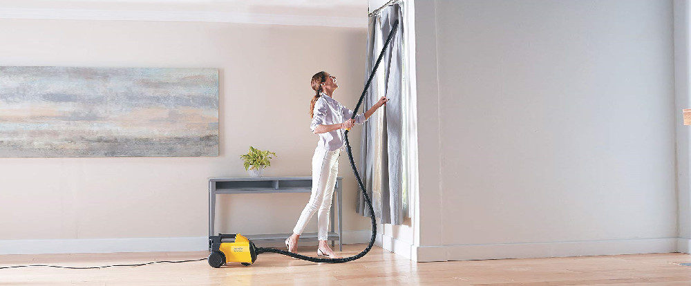 EUREKA Mighty Mite Canister Vacuum Cleaner