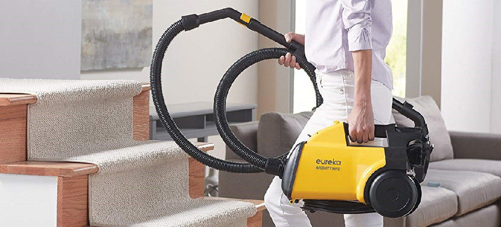 EUREKA Mighty Mite Canister Vacuum Cleaner Review