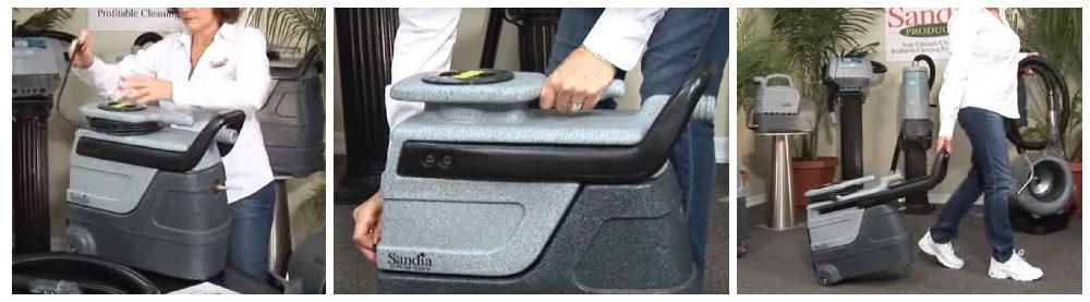 Sandia Spotter Carpet Extractor