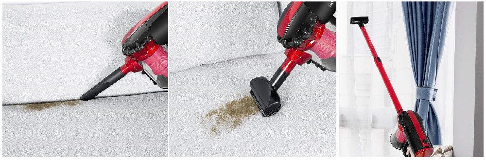 MOOSOO Corded Stick Vacuum