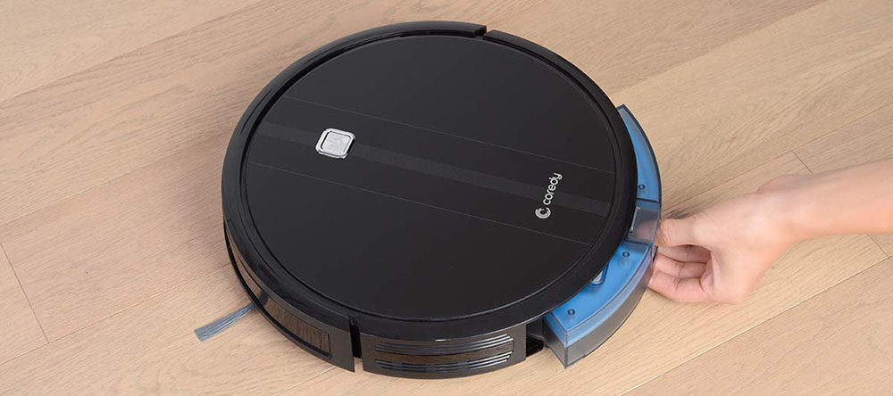 Coredy Robot Vacuum Cleaner, 1700Pa Strong Suction