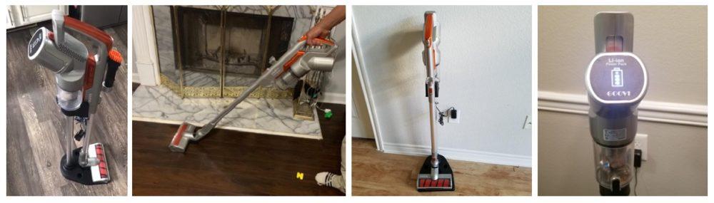 GOOVI Stick Vacuum Cleaner Review (EV693)