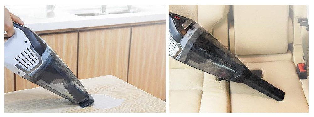 Hoover BH57005 Vs. Homasy Handheld Vacuum