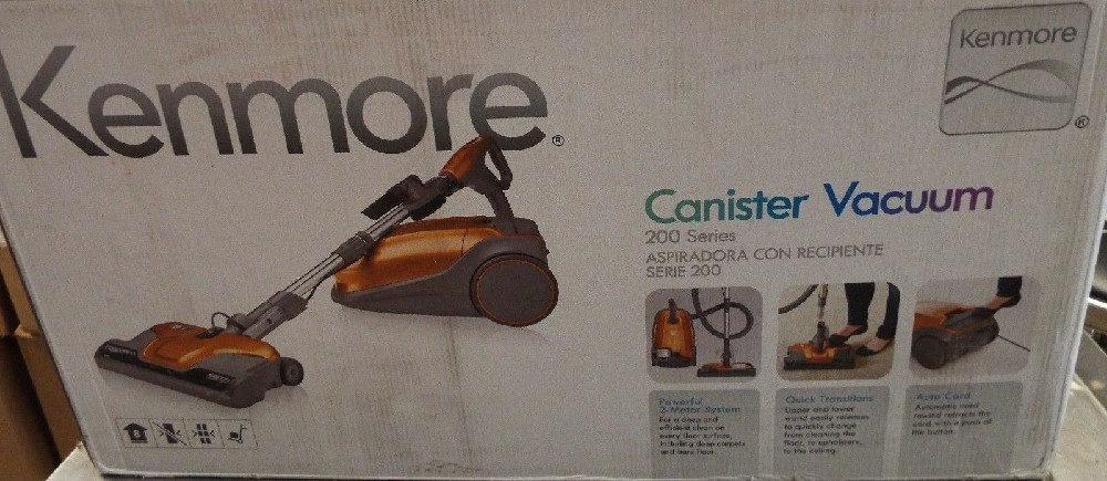 Kenmore 81214 200 SeriesCanister Vacuum