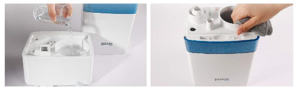 LEVOIT Dual 100 Vs. LEVOIT LV455CH Cool Mist Humidifier