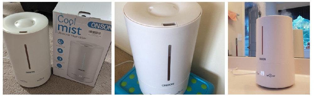 ONSON Cool Mist Humidifier