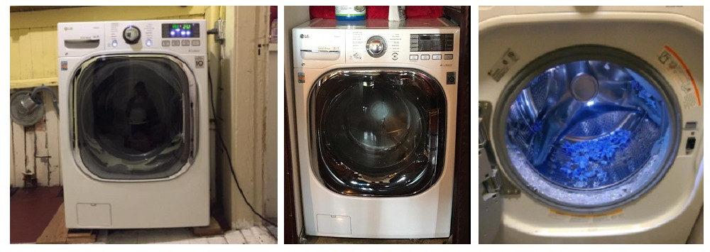 LG WM3997HWA Washer/Dryer