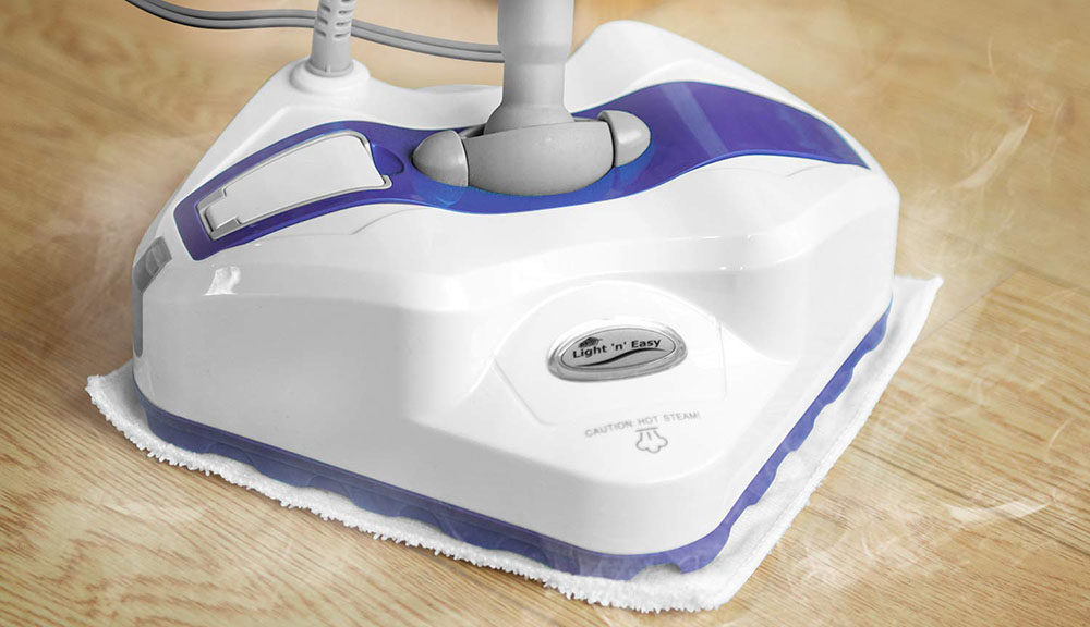 LIGHT 'N' EASY Steam Mop Floor Steamer
