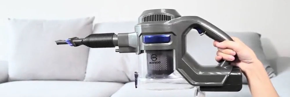 MOOSOO Stick Handheld Vacuum Cleaner