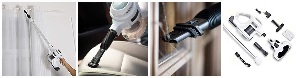 MOOSOO Cordless Vacuum Cleaner Strong 15Kpa 30mins Review