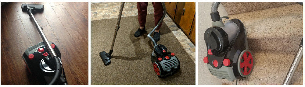 Ovente Bagless Canister Cyclonic Vacuum Review