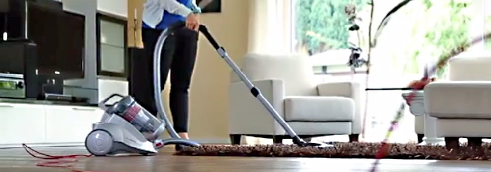 Severin Germany Nonstop Corded Bagless Canister Vacuum