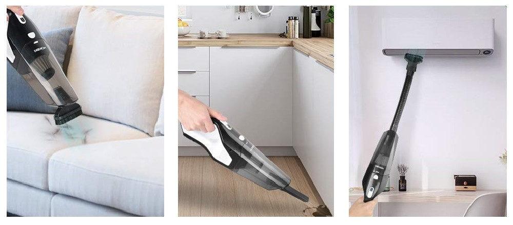 Silipower Vs. HOKEKI Handheld Vacuum