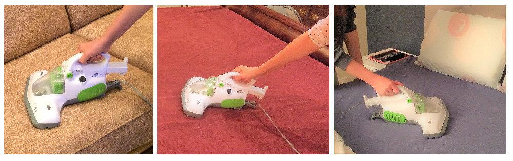 Idee Handheld Portable UV Sanitizing Vacuum Cleaner