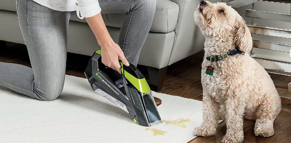 BISSELL Pet Stain Eraser 2003T Cordless Portable Carpet Cleaner