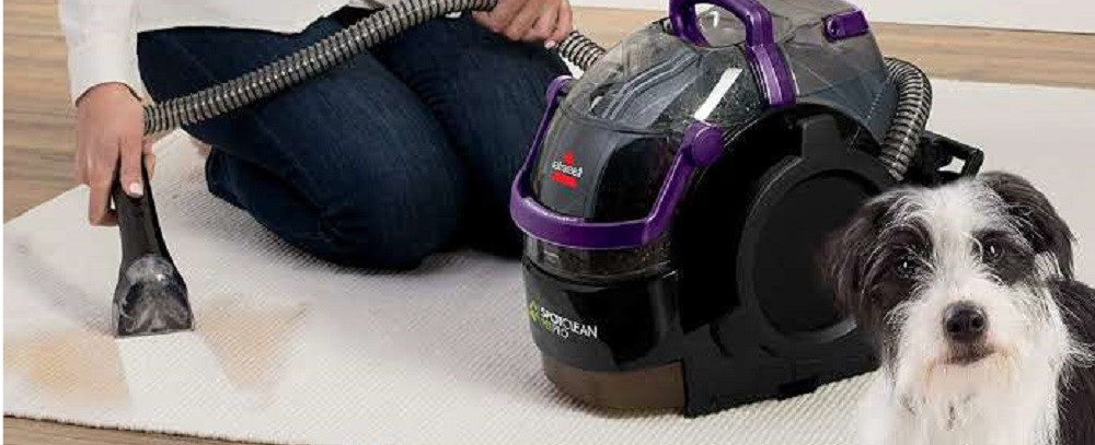 BISSELL 2458 vs. 2694 SpotClean Portable Carpet Cleaners