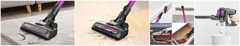 Dibea E19Pro Handheld Lightweight Vacuum Cleaner Review