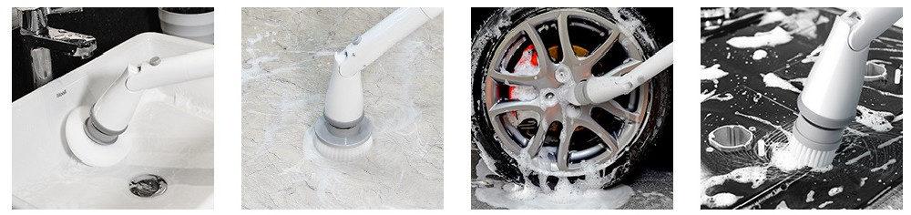 Homitt Power Spin Scrubber vs Homitt Electric Spin Scrubber