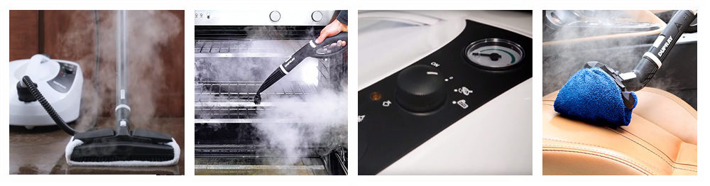 Steam Cleaner with Accessory Kit