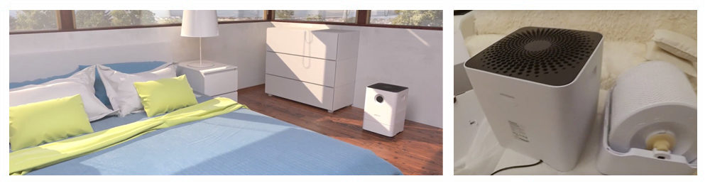 Air Washer Humidifier and Purifier