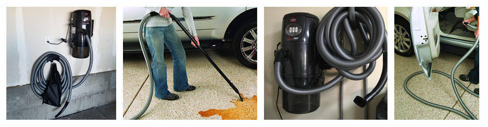 Vacuum with Retractable Hose