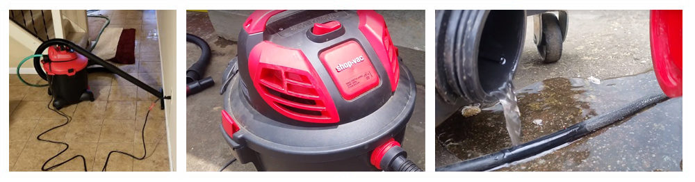 Wet-Dry Vacuum Cleaner With Pump