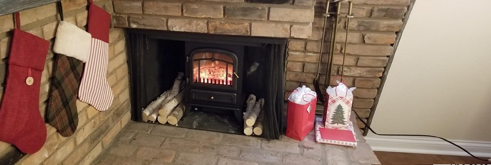 HOMCOM Freestanding Electric Fireplace Heater Review