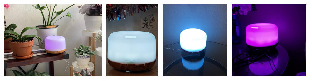 Humidifier with Premium Essential Oil