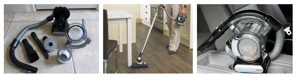 Vacuum with Brush