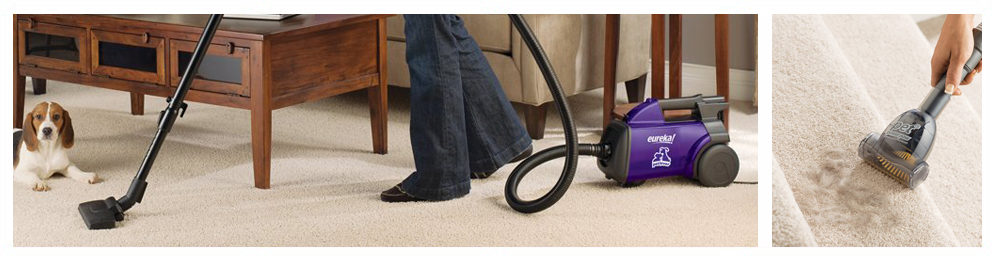 Bagged Canister Vacuum Cleaner