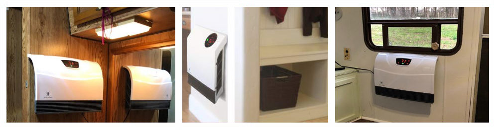 Heater with WiFi