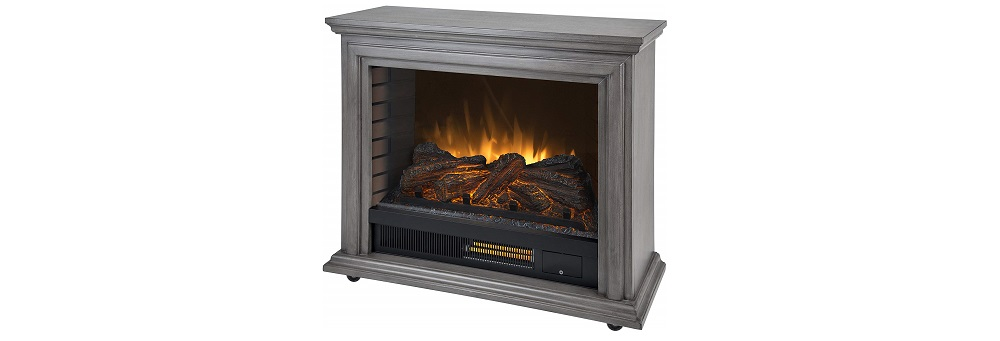 Pleasant Hearth Sheridan Mobile Infrared Fireplace Review