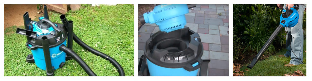 Wet And Dry Vacuum With Pump