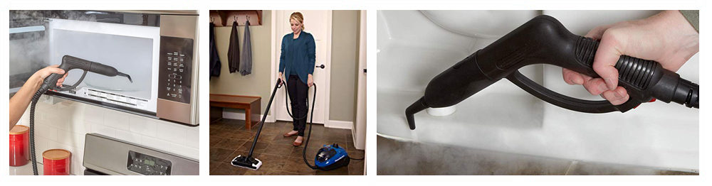 Steam Cleaners with Accessories