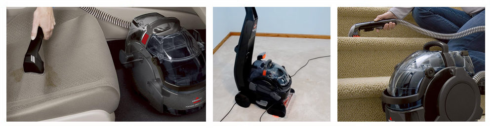 Deluxe Carpet Cleaner with Attachments