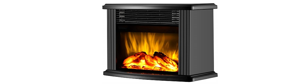 DONYER POWER Mini Electric Fireplace